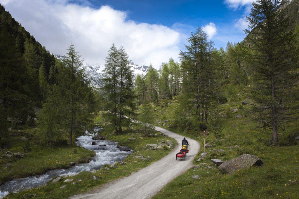 Southern Tyrol: Biking over Klammjoch (2288m) ...